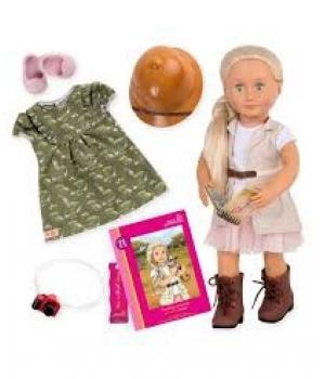 Our Generation Лялька DELUXE - Найа - любителька сафарі (46 см)