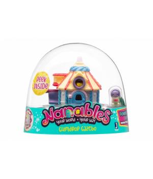 Nanables Ігрова фігурка Small House Містечко солодощів, Цукерковий будиночок