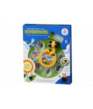 Набор для опытов с микроскопом детский Полевой микроскоп Same Toy
