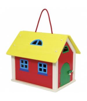 Игрушка деревянный домик ферма, goki