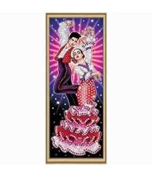 Картина из пайеток набор для творчества Танец Sequin Art