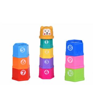 Набор для песочницы пасочки - Чашки 10 шт, Same Toy