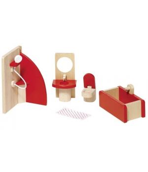 goki Набір для ляльок Меблі для ванної кімнати