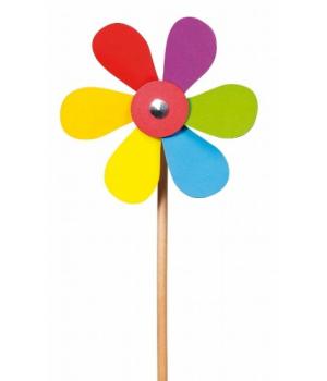 Игрушка Ветрячок, цветочек, Goki