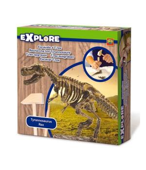 Раскопки динозавров набор для детей Скелет Тираннозавра Ses Creative