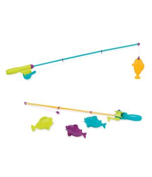 Игрушка детская рыбалка на магнитах, (2 удочки, 4 рыбки), Battat
