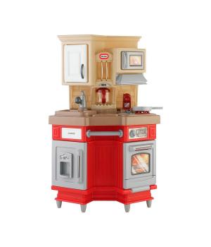 Детская кухня Супер Шеф (свет,звук эфф..) с набором посудки, Little Tikes