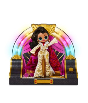 """Игровой набор с коллекционной куклой L.O.L. SURPRISE! серии """"O.M.G. Remix"""" - СЕЛЕБРИТИ"""
