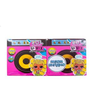 """Кукла ЛОЛ Сюрприз W1 серии """"Remix Hairflip"""" - МУЗЫКАЛЬНЫЙ СЮРПРИЗ, акционный набор 2 шт"""