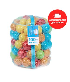 Набор шариков для сухого бассейна - Разноцветные шарики