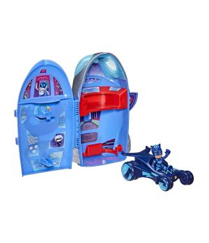 Игровой набор Герои в масках - Штаб ракета 2-в-1 (фигурка, машинка), Hasbro