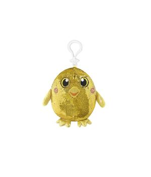 Мягкая игрушка с пайетками SHIMMEEZ – РАДОСТНАЯ УТОЧКА (9 см, на клипсе)