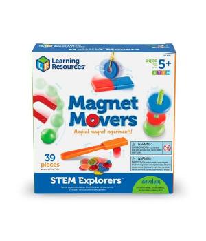 Магнитная обучающая игра эксперементы с магнитами, Learning resources