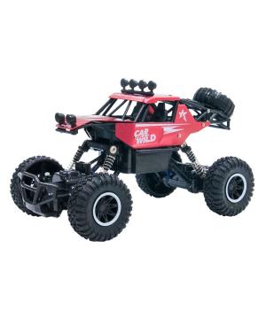 Игрушка Джип на радиоуправлении с аккумулятором OFF-ROAD CRAWLER CAR VS WILD (красный, аккум. 3,6V, метал. корпус, 1:20)