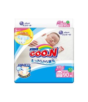 Подгузники GOO.N для новорожденных коллекция 2019 (SS, до 5 кг)