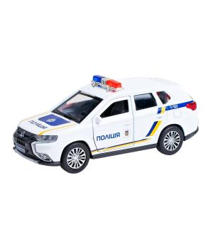 Автомодель - MITSUBISHI OUTLANDER POLICE (1:32)