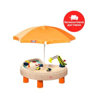 Песочница-стол - Веселая стройка