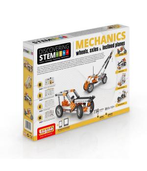 Детский Конструктор серии STEM - Механика: колеса, оси и наклонные плоскости