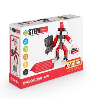 Робот конструктор STEM HEROES - Исследование космоса: Зевс