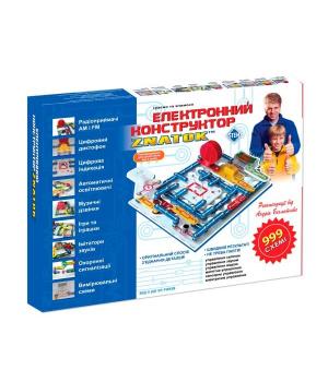 Электронный детский конструктор - ZNATOK (999 схем)