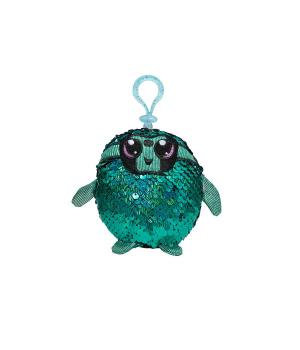 Мягкая игрушка с пайетками SHIMMEEZ S2 – ТАЛАНТЛИВЫЙ ЛЕНИВЕЦ (9 см, на клипсе)