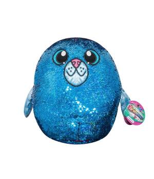 Мягкая игрушка с пайетками SHIMMEEZ S2 - ТЮЛЕНЬ АКВА (36 см)