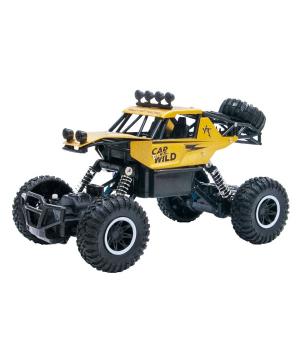 Автомобиль OFF-ROAD CRAWLER на р/у – CAR VS WILD (золотой, аккум. 3,6V, метал. корпус, 1:20)