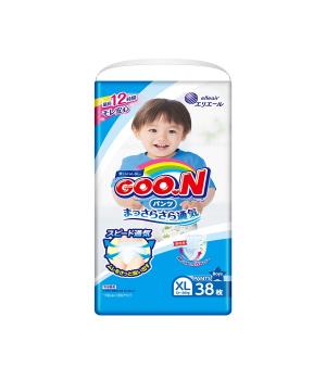 Трусики-подгузники Goo.N для мальчиков коллекция 2019 (XL, 12-20 кг)