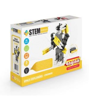 Детский Конструктор серии STEM HEROES - Исследование космоса: Кронос