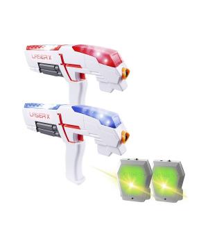 Лазерные пистолеты с мишенью - Laser X для двух игроков