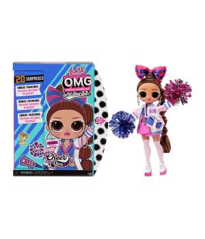 """Игровой набор с куклой L.O.L. SURPRISE! серии """"O.M.G. Sports Doll"""" – ЛЕДИ-ЧИРЛИДЕР (с аксессуарами)"""