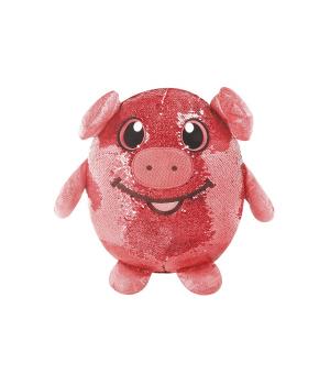 Мягкая Игрушка С Пайетками Shimmeez - Веселая Свинка