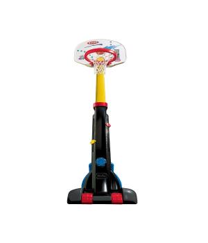 Детское баскетбольное кольцо на стойке, до 210 см, 5 уровней, Little Tikes