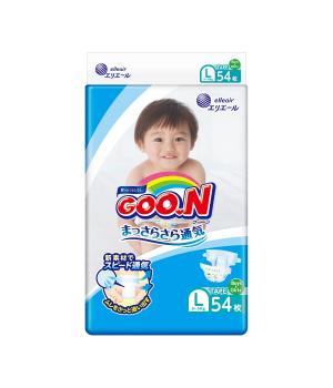 Подгузники Gоо.N для детей коллекция 2020 (L, 9-14 кг, 54 шт)