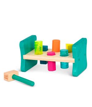 Развивающая деревянная игрушка-сортер - БУМ-БУМ