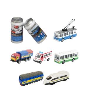 Мини-Модели Городской Транспорт - Машинка В Банке