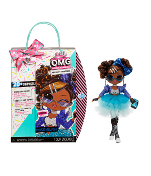 """Игровой набор с куклой L.O.L. SURPRISE! серии """"O.M.G."""" – ИМЕНИННИЦА (с аксессуарами)"""