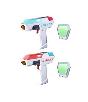Детское лазерное оружие 2 пистолета для лазерных боев - Laser X