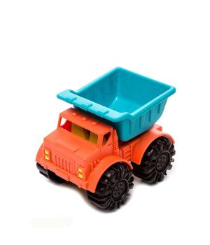 Набор с машинкой для песка - Мини-Самосвал 13 см, Battat