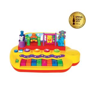 Детское пианино - ЗВЕРЯТА НА КАЧЕЛЯХ (звук), Kiddieland