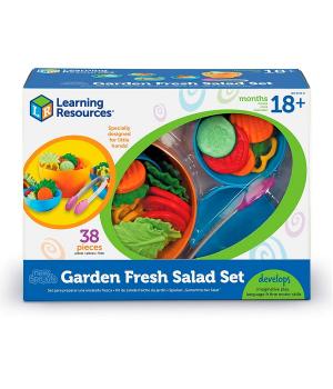 Набор игрушечных продуктов овощной салат LEARNING RESOURCES