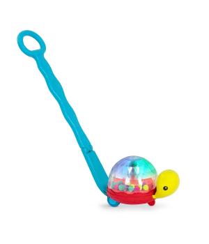 Каталка для малышей с ручкой Черепашка, Battat