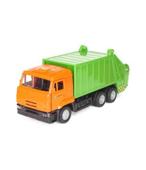 Игрушечная машинка мусоровоз - автомодель КАМАЗ (свет, звук)