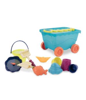 Детская тележка для игры с песком и водой, Battat