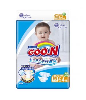 Подгузники Goo.N для детей коллекция 2020 (M, 6-11 кг)