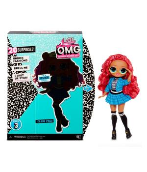 """Игровой набор с куклой L.O.L. SURPRISE! серии """"O.M.G"""" S3 - ОТЛИЧНИЦА (с аксессуарами)"""