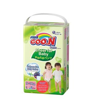 Трусики-подгузники Cheerful Baby для детей (L, 8-14 кг, унисекс, 48 шт)