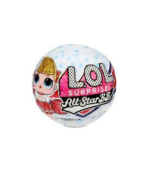 """Кукла lol в шаре SURPRISE! серии """"All-Star B.B.s"""" W2 - СПОРТИВНАЯ КОМАНДА (в ассортименте)"""