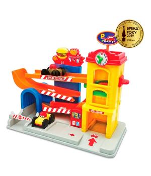 Гараж игрушка для мальчика со звуком, Kiddieland