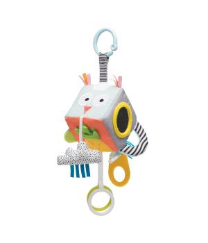 Развивающая игрушка-кубик на коляску - ВЕСЕЛЫЕ ЗВЕРУШКИ